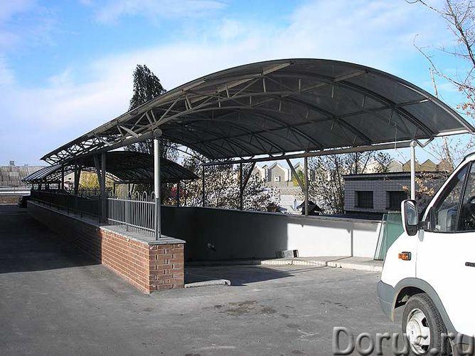 Автонавесы из поликарбоната в Химки зеленограде - Строительные услуги - Изготавливаем и устанавливае..., фото 1